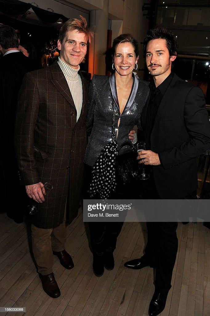 Adam Cooper, Darcey Bussell and Will Kemp attend an after party following the press night performance of Matthew Bourne's Sleeping Beauty at Sadler's Wells Theatre on December 9, 2012 in London, England.