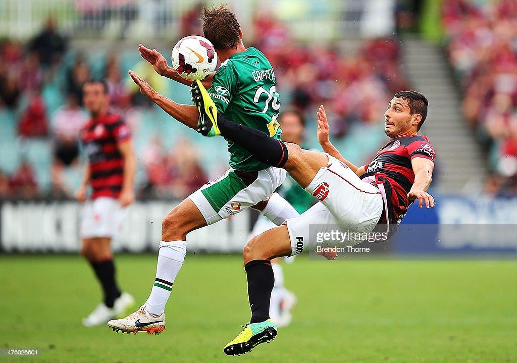 A-League Rd 21 - Western Sydney v Newcastle