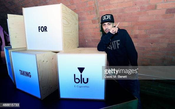 Adam Deacon at the official UK launch of blu eCigs the premier global electronic cigarette and the start of the brand's forthcoming UK music tour at...