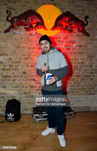 Adam Deacon at the Red Bull Studios London Fifth Birthday Party on November 5 2015 in London England