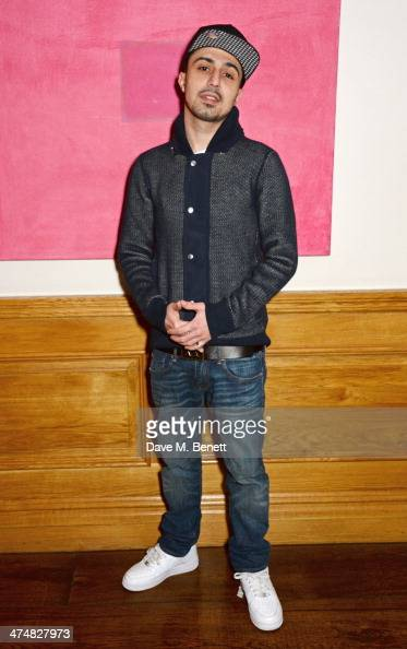 Adam Deacon attends a special screening of 'Ride Along' at The Soho Hotel on February 25 2014 in London England