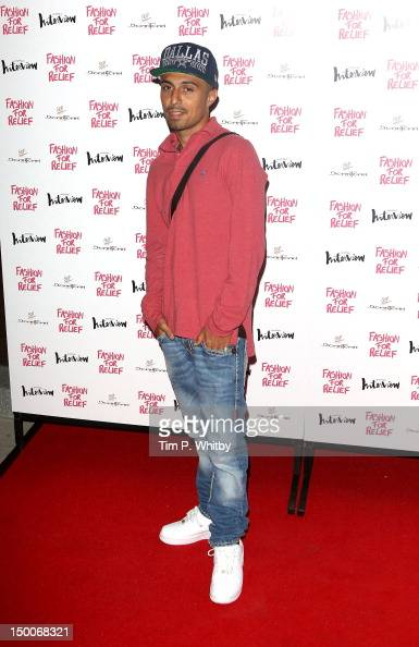 Adam Deacon attends Fashion for Relief a Charity Dinner hosted by Naomi Campbell at Downtown Mayfair on August 9 2012 in London England