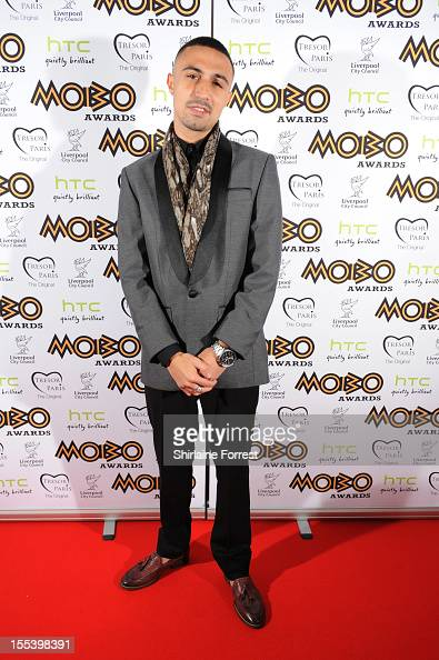 Adam Deacon attends the 2012 MOBO awards at Echo Arena on November 3 2012 in Liverpool England