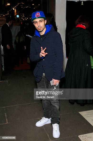 Adam Deacon attends the Fayre of St James Christmas Concert presented by Quintessentially Foundation in aid of Rays of Sunshine at St James Church on...