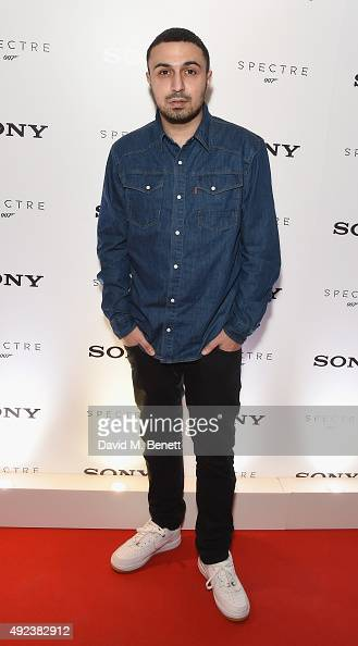 Adam Deacon attends the launch event for Sony technology 'Made for Bond' featuring the RX100 IV camera and Xperia Z5 at the Mondrian Hotel on October...