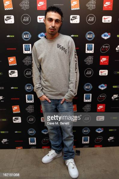 Adam Deacon attends the Nike Air Max Anniversary party celebrating the 25th anniversary of the iconic Air Max shoe at the London Film Museum Covent...