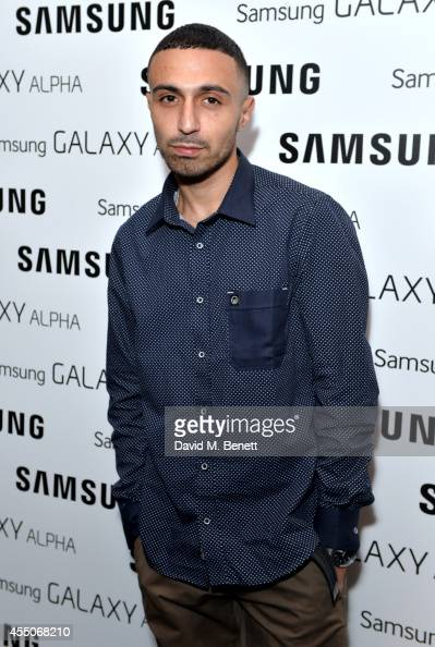 Adam Deacon attends the Samsung Galaxy Alpha launch event at The Collection on September 9 2014 in London England