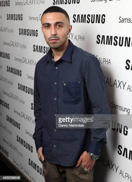 Adam Deacon attends the Samsung Galaxy Alpha Launch party at The Collection on September 9 2014 in London England