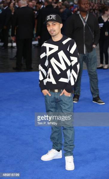 Adam Deacon attends the UK Premiere of 'XMen Days of Future Past' at Odeon Leicester Square on May 12 2014 in London England