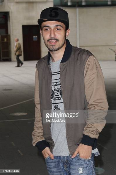 Adam Deacon seen leaving BBC Radio One on June 20 2013 in London England