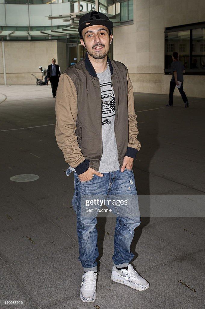Adam Deacon sighted at BBC Radio Studios on June 20, 2013 in London, England.