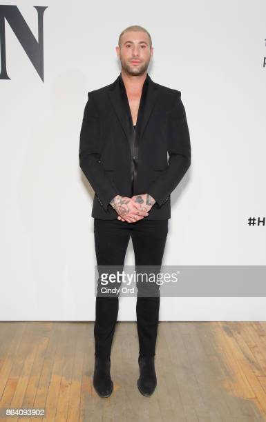 Adam Drawas attends Hudson Jean SS18 Preview Hosted by Kaia Gerber on October 20 2017 in New York City