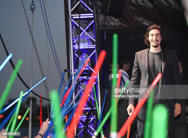 Adam Driver and more than 6000 fans enjoyed a surprise 'Star Wars' Fan Concert performed by the San Diego Symphony featuring the classic 'Star Wars'...