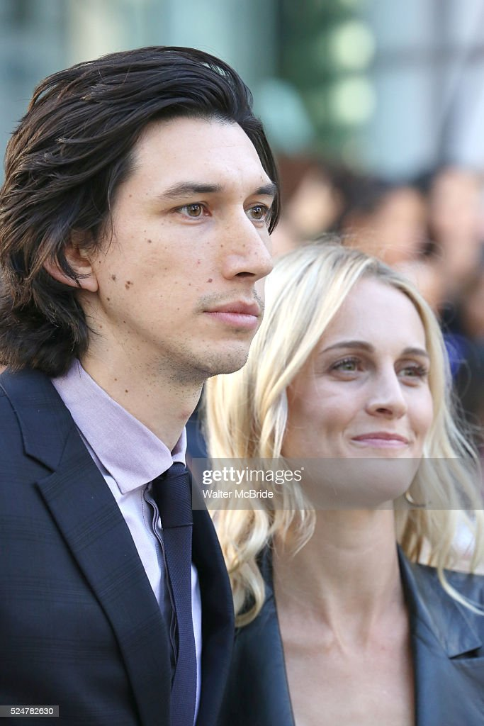 Adam Driver and wife J...
