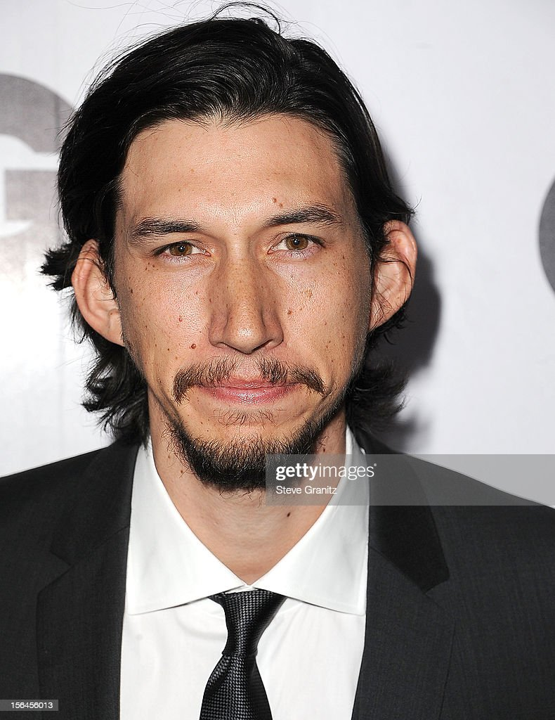 Adam Driver arrives at the GQ Men Of The Year Party at Chateau Marmont on November 13, 2012 in Los Angeles, California.