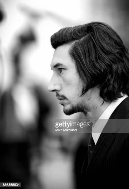 Adam Driver arriving at the 'Logan Lucky' UK premiere held at Vue West End on August 21 2017 in London England