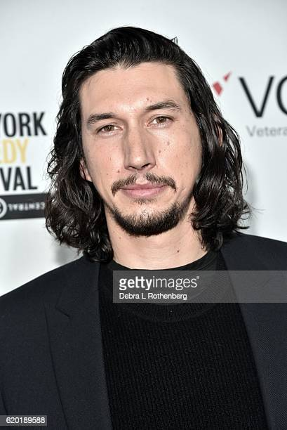 Adam Driver attends the 10th Annual Stand Up For Heroes Show at The Theater at Madison Square Garden on November 1 2016 in New York City
