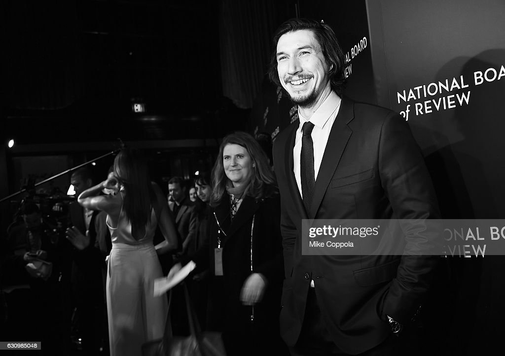 Adam Driver attends the 2016 National Board of Review Gala at Cipriani 42nd Street on January 4, 2017 in New York City.