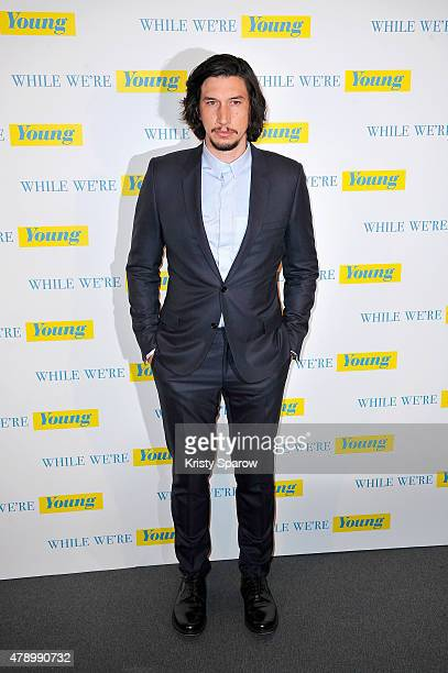 Adam Driver attends the 'While We're Young' Paris Premiere at UGC Les Halles on June 29 2015 in Paris France