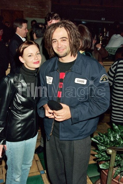 adam duritz and samantha mathis during hbos after party for
