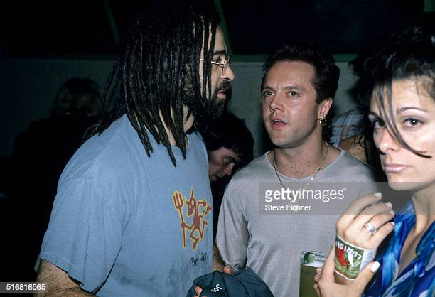 Adam Duritz of Counting Crows and James Hetfield of Metalica New York 1996