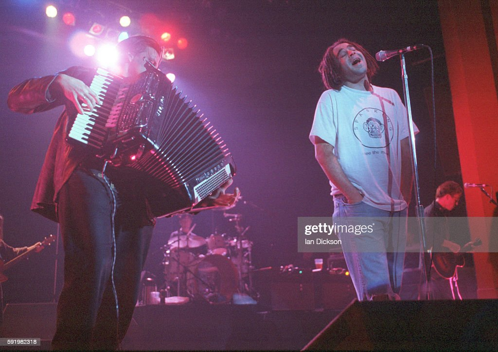 Adam Duritz of Counting Crows performing on stage at Shepherds Bush Empire London 15 November 1994