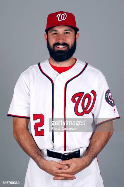 Adam Eaton of the Washington Nationals poses during Photo Day on Thursday February 23 2017 at the Ballpark of the Palm Beaches in West Palm Beach...