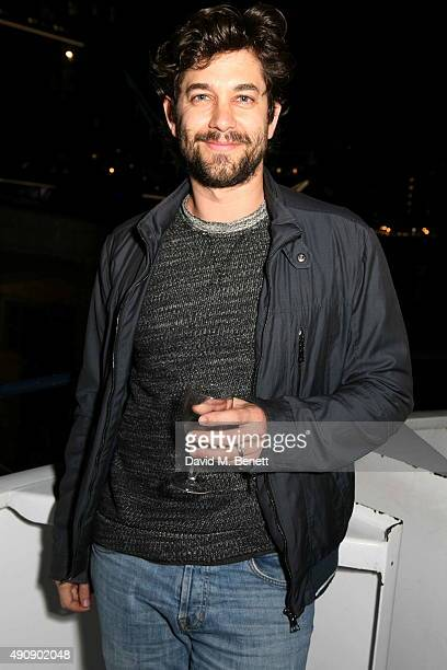 Adam Garcia attends the Croatia 'Full of Life' Floating Island Party on Erasmus in Butler's Wharf on October 1 2015 in London England