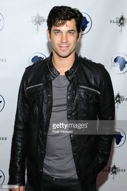 Adam Garcia attends the Shine On Sierra Leone foundation event at Playhouse on November 11 2009 in Hollywood California