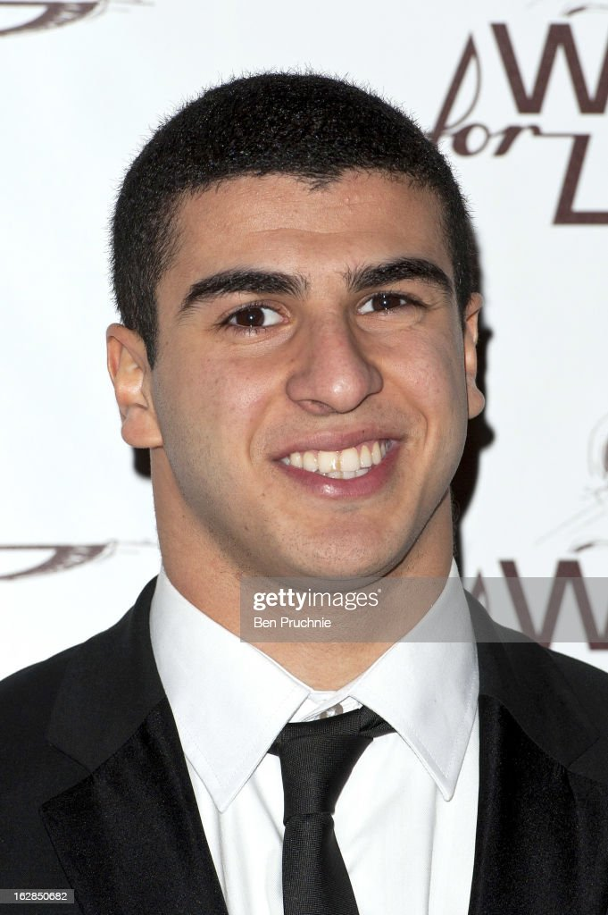 <a gi-track='captionPersonalityLinkClicked' href=/galleries/search?phrase=Adam+Gemili&family=editorial&specificpeople=7091483 ng-click='$event.stopPropagation()'>Adam Gemili</a> attends a dinner and ball hosted by The Cord Club in aid of Wings For Life at One Marylebone on February 28, 2013 in London, England.