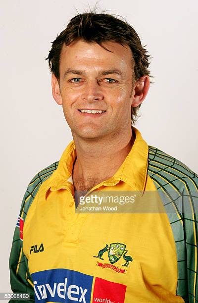 Adam Gilchrist of Australia poses for a headshot during a photo call ahead of their tour of England May 31 2005 in Brisbane Australia