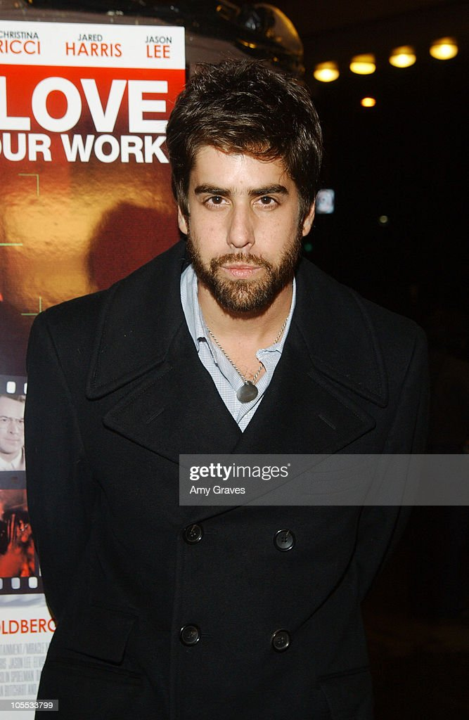 Adam Goldberg, writer/director during 'I Love Your Work' Los Angeles Premiere at Laemmle Fairfax Theater in Los Angeles, California, United States.