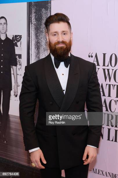Adam Goldston attends the 2017 CFDA Fashion Awards at Hammerstein Ballroom on June 5 2017 in New York City