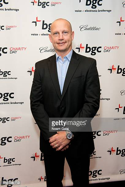 Adam Graves attends Cantor Fitzgerald and BGC Partners Annual Charity Day at BGC Partners INC on September 11 2013 in New York City