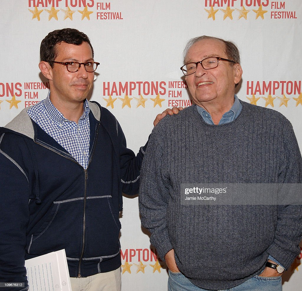 Adam Green and director Sidney Lumet attend the Hamptons Film Festival - Conversation with Sidney Lumet interviewed by Adam Green on October 19, 2007 at the Bay Street Theater, New York.