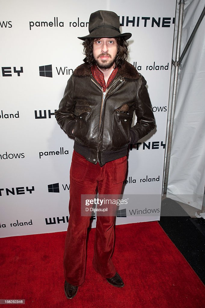 Adam Green attends the Whitney Museum of American Art's 2012 Studio Party at The Whitney Museum of American Art on December 11, 2012 in New York City.