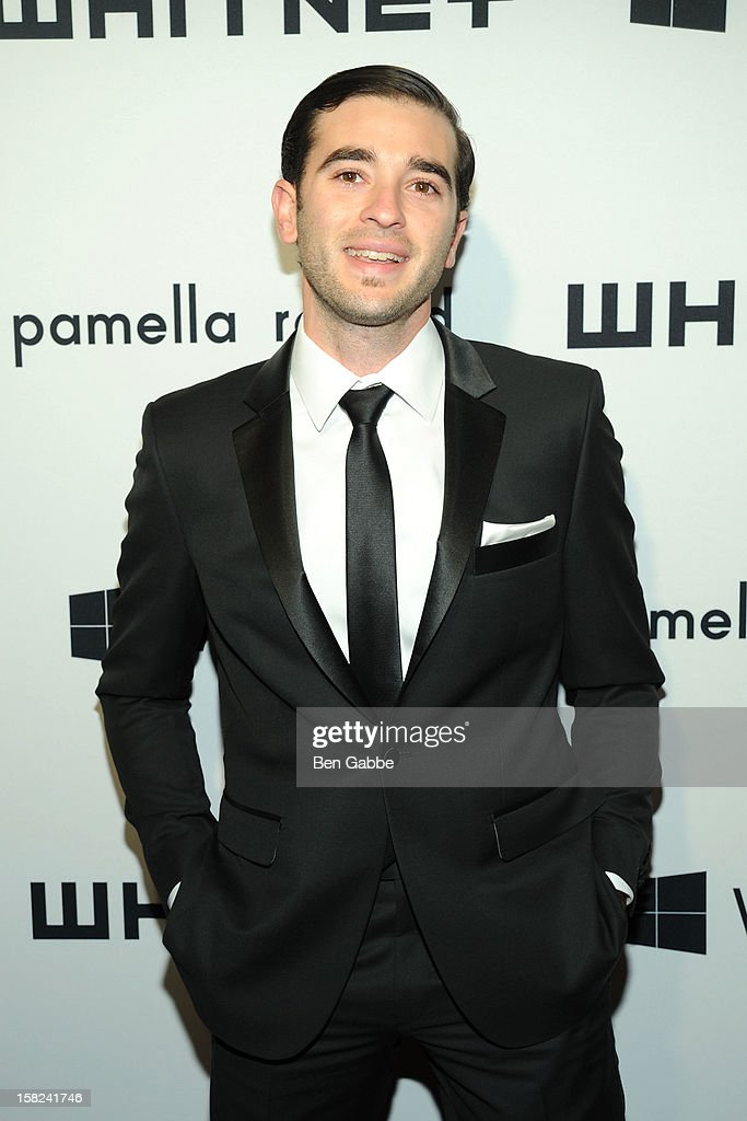 Adam Green attends Whitney Museum of American Art's 2012 Studio Party at The Whitney Museum of American Art on December 11, 2012 in New York City.