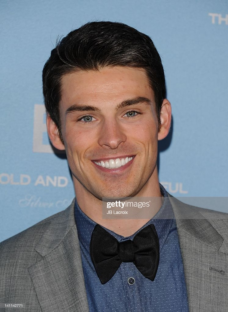 Adam Gregory attends the 25th Silver Anniversary party for CBS' 'The Bold And The Beautiful on March 10, 2012 in Los Angeles, California.
