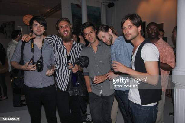 Adam Hawkins Benjamin Hollingsworth Christian Gonzalaz Joshua Hawkins and John Wallace attend PYT Pretty Young Thing cocurated by Anne Huntington...