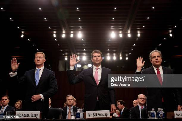 Adam Hickey deputy assistant Attorney General of the National Security division EW 'Bill' Priestap assistant director of the counterintelligence...