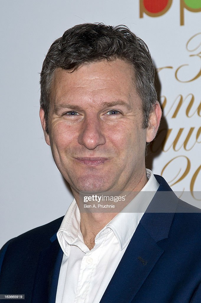 Adam Hill attends the Broadcasting Press Guild TV and Radio awards on March 14, 2013 in London, England.