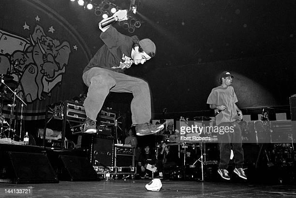 Adam Horovitz and Adam Yauch of the Beastie Boys at Roseland in New York City on November 7 1992