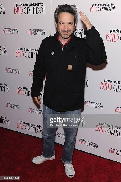 Adam Horovitz attends 'Jackass Presents Bad Grandpa' New York special screening at Sunshine Landmark on October 21 2013 in New York City