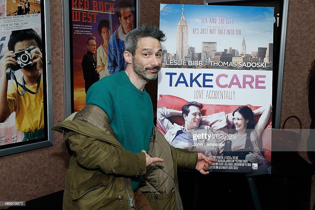 Adam Horovitz from the Beastie Boys attends 'Take Care' New York Screening at Cinema Village on December 5 2014 in New York City