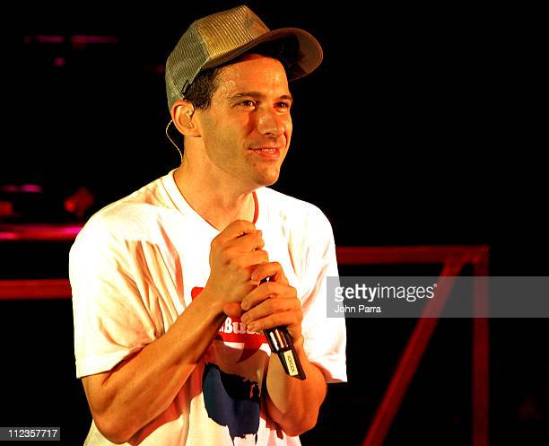 Adam Horovitz of the Beastie Boys during MTV2 Presents A LIFEbeat Benefit August 28 2004 at Crowbar in Miami Florida United States