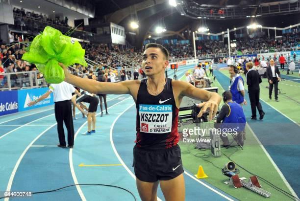 Adam KSZCZOT 800m Meeting Pas de Calais Trophee Caisse d'Epargne 2012 Stade Regional Couvert Lievin Photo Dave Winter / Icon Sport