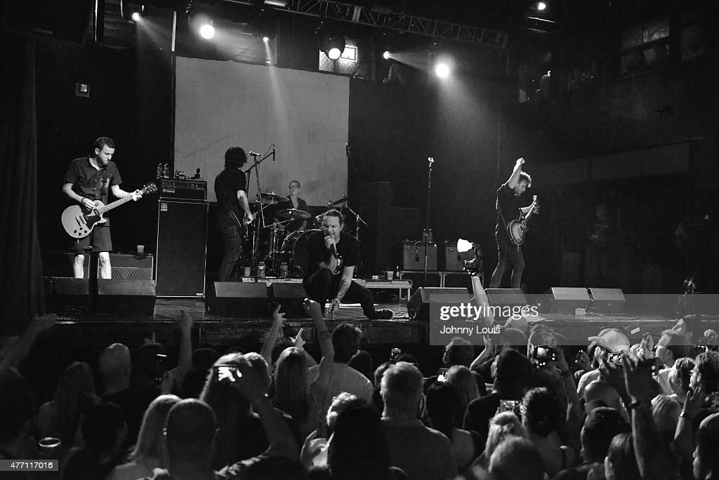 Adam Kury Dave Krusen Kevin Martin and Sean Hennesy of rock band Candlebox performs at Revolution Live on JUNE 13 2015 in Fort Lauderdale Florida...