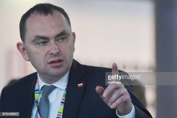 Adam Kwiatkowski the Secretary of State at the Chancellery of the President of the Republic of Poland present at Congress 590 in the new Exhibition...