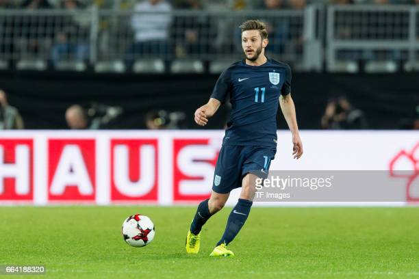 Adam Lallana controls the ball during the international friendly match between Germany and England at Signal Iduna Park on March 22 2017 in Dortmund...