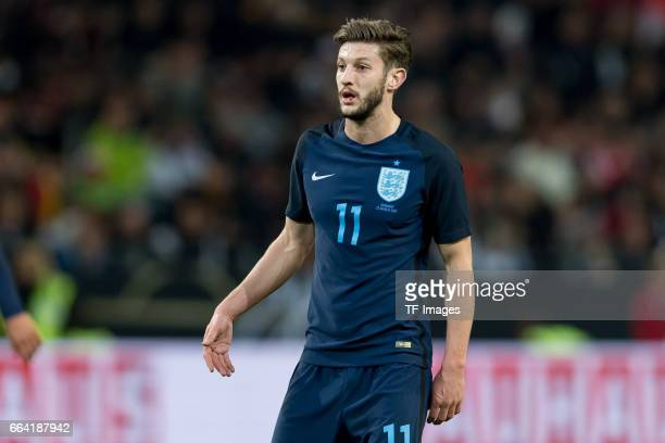 Adam Lallana gestures during the international friendly match between Germany and England at Signal Iduna Park on March 22 2017 in Dortmund Germany